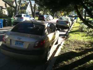 cars with foreign consulate plates abusing restricted street parking