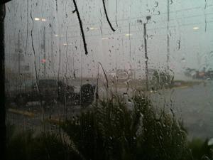 Florida thunder storm